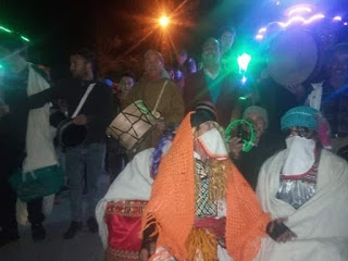 Algeria Berbers' Halloween